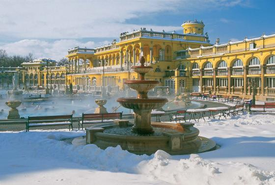 Wellness, Spas and Turkish Baths in Budapest, Hungary