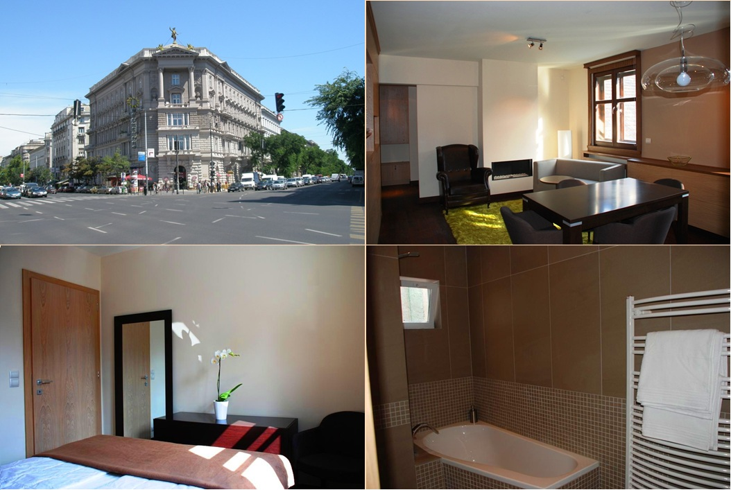 Apartment in Budapest Andrassy Avenue