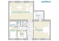 Grand Opera Apartment plan