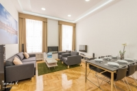 Grand Nador Apartment - open plan living room